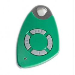 Télécommande INTRATONE 4 canaux HF + badge incorporé coloris vert