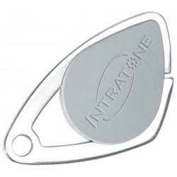 Badge VIGIK INTRATONE coloris gris