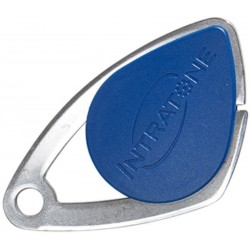 Badge VIGIK INTRATONE coloris bleu