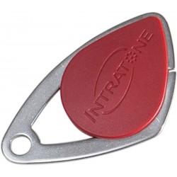 Badge VIGIK INTRATONE coloris rouge