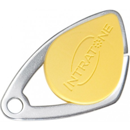 Badge VIGIK INTRATONE coloris jaune