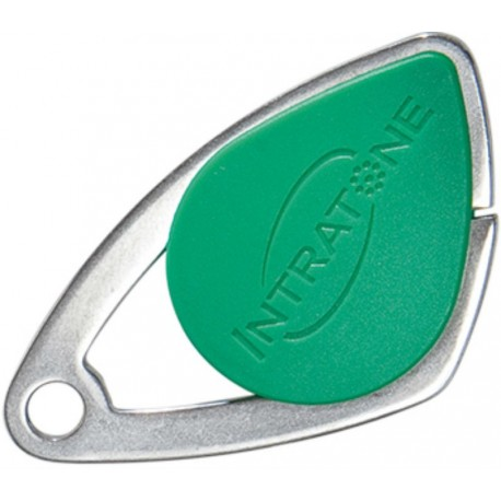 Badge VIGIK INTRATONE coloris vert