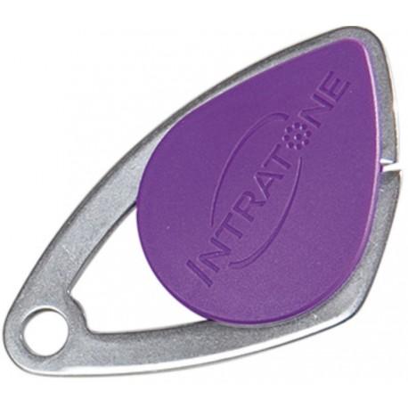 Badge VIGIK INTRATONE coloris violet